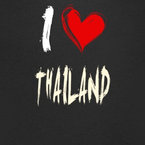 I love Thailand - Men's V-Neck T-Shirt
