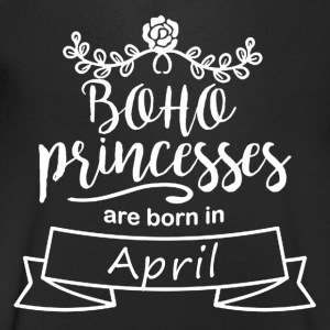 Boho Princesses are born in April - Men's V-Neck T-Shirt