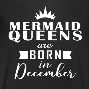 Mermaid Queens desember - T-skjorte med V-utsnitt for menn