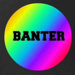 Liten Rainbow Banter Badge - T-skjorte med V-utsnitt for menn