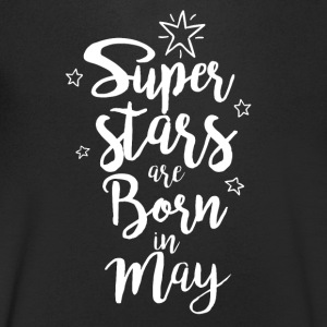 Super stars are born in May - Men's V-Neck T-Shirt