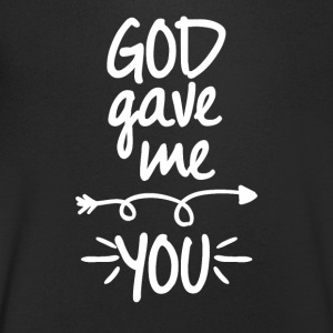 God gave me you (right arrow) - Men's V-Neck T-Shirt