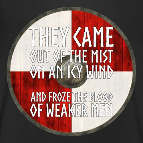 Vikings - They came out of the mist - Men's Organic V-Neck T-Shirt by Stanley & Stella