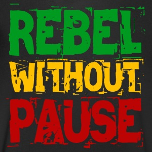 Rebel Without Pause - Men's V-Neck T-Shirt
