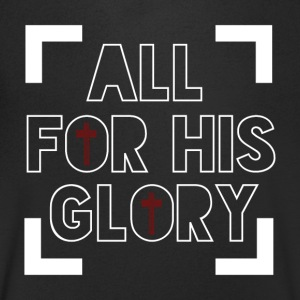 All for His Glory - Believe - Men's V-Neck T-Shirt