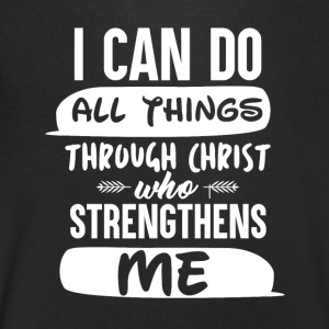 Christ strictly thens Me - Men's V-Neck T-Shirt