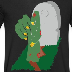 Zombie - Men's V-Neck T-Shirt