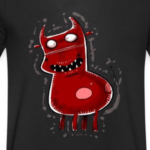 Teufelskuh - Männer Bio-T-Shirt mit V-Ausschnitt von Stanley & Stella