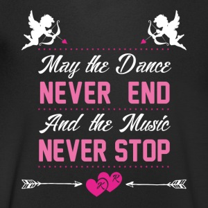Dance and Music - Men's V-Neck T-Shirt