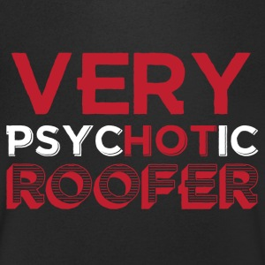Roofers: Very Hot Roofer - Men's V-Neck T-Shirt