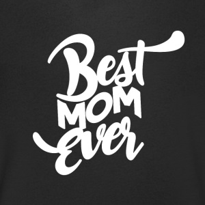 BEST MOM EVER - Mothersday - Koszulka męska Canvas z dekoltem w serek