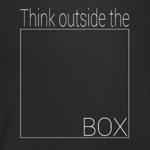 Think outside the box - Men's V-Neck T-Shirt