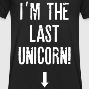 Last Unicorn - Men's V-Neck T-Shirt