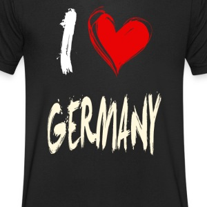 I love germany - Men's V-Neck T-Shirt
