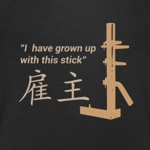 Wing Chun - Training - Mannen T-shirt met V-hals