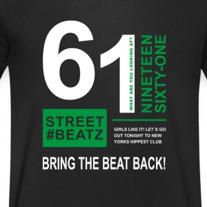 street beats - Men's V-Neck T-Shirt