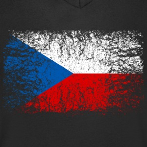 Czech Republic 002 AllroundDesigns - Men's V-Neck T-Shirt