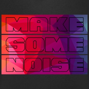 Make some noise - Mannen T-shirt met V-hals