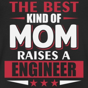 Mom Engineer - Ingenieur mutter - Männer T-Shirt mit V-Ausschnitt