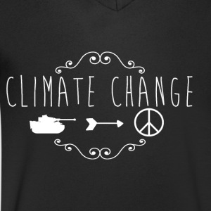 climate Change 2017 - Men's V-Neck T-Shirt