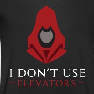 I Do not Use Elevators - Men's V-Neck T-Shirt