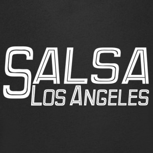 Salsa Los Angeles white - Salsa Dance Shirts - Men's V-Neck T-Shirt