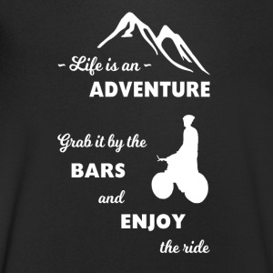 Mountain Bike Adventure - Mannen T-shirt met V-hals