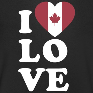 J'aime le Canada - T-shirt Homme col V