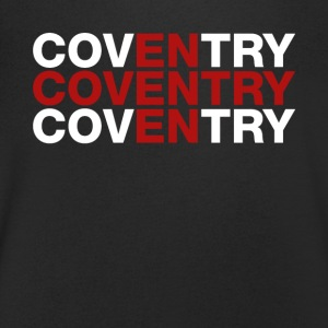 Shirt Conventry United Kingdom Flag - Conventry - Koszulka męska Canvas z dekoltem w serek