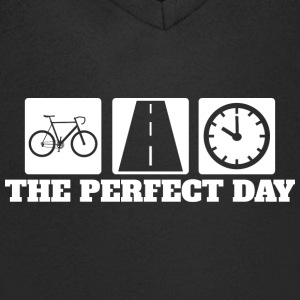 Perfect Day - Route - Cyclisme sur route - T-shirt Homme col V