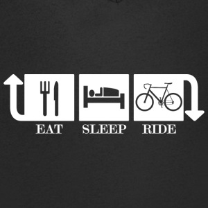 Eat sleep ride - Men's V-Neck T-Shirt