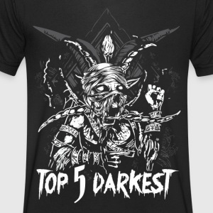 Top 5 Darkest - Mannen T-shirt met V-hals