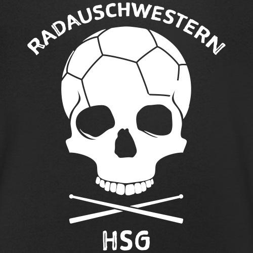 RADAUSCHWESTERN - Männer Bio-T-Shirt mit V-Ausschnitt von Stanley & Stella