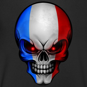 Totenkopf France AllroundDesigns - Men's V-Neck T-Shirt