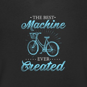 Bicycle is the Best Machine ever Created - Men's V-Neck T-Shirt