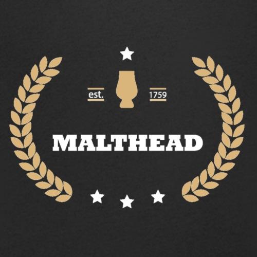 Malthead - Männer Bio-T-Shirt mit V-Ausschnitt von Stanley & Stella