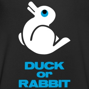 Duck Rabbit Illusion - Men's V-Neck T-Shirt