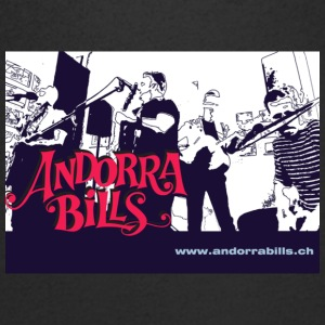 Andorra Bills - Fan - T-shirt med v-ringning herr