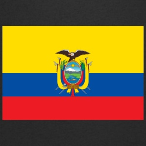 National Flag Of Ecuador - Men's V-Neck T-Shirt