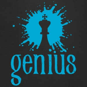 genius - Men's V-Neck T-Shirt