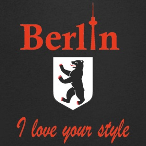 Berlin Je vous aime - T-shirt Homme col V
