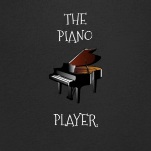 The piano player - Men's V-Neck T-Shirt