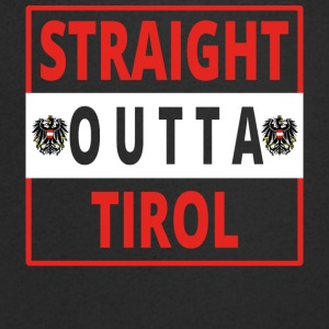 Straight outta Tirol - Men's V-Neck T-Shirt