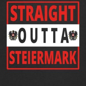 Straight outta Styria - Men's V-Neck T-Shirt