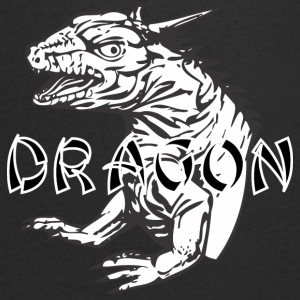 small dragon - Men's V-Neck T-Shirt