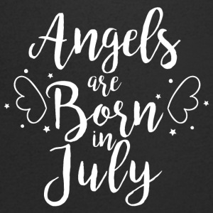 Angels are born in July - Men's V-Neck T-Shirt