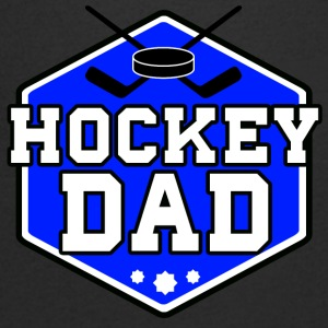Hockey Dad - T-shirt med v-ringning herr