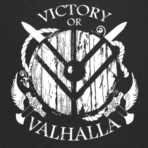 VIKTORY OF VALHALLA2 - Men's V-Neck T-Shirt