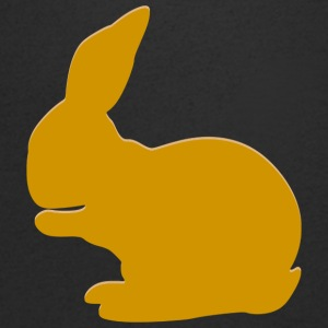 Real Rabbit - Mannen T-shirt met V-hals