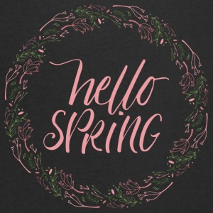 Spring Break / Springbreak: Hello Spring - Men's V-Neck T-Shirt